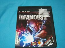 2011 SONY PLAYSTATION 3 PS3 -  INFAMOUS 2 - TESTED