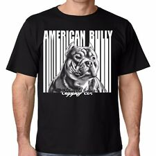 Barcode pit bull and bully breed t shirt for American Bully and Pitbull lovers!