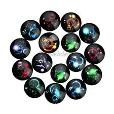 20pcs 18/20/25 mm Glass Cabochon Flatback Handmade Round for Jewelry Cameo Craft