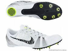 NIKE Zoom VICTORY 2 II Track Field Spikes Cleats Shoes Black White Volt SIZE 6.5