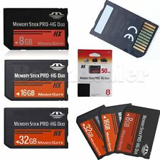 8/16/32GB Memory Stick MS Pro Duo Memory Card For Sony PSP & Cybershot Camera