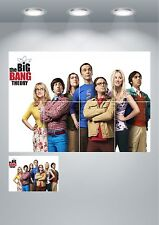 The Big Bang Theory TV Show Cast Giant Wall Art poster Print