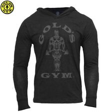 Golds Gym Men Sweatshirt Hoodie Bodybuilding Fitness Mens Hoodies Jumper Shirt