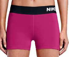 "NIKE PRO DRI FIT WOMEN'S COOL 3"" COMPRESSION TRAINING SHORTS PINK  #725443-NWT"