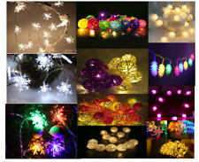 LED String Lights for Holiday Christmas Party Outdoor Garden Decoration Fairy