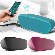 Portable Wireless Bluetooth Speaker Dual Stereo Speakers TF SD Card Music Player