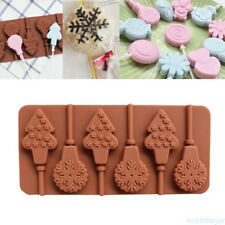 Baking Tool Rabbit Lollipop Silicone Mold Chocolate Mold DIY Biscuit NEW T5