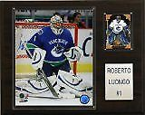 "CICO-1215LUONGO-NHL 12""x15"" Roberto Luongo Vancouver Canucks Player Plaque"
