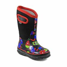 Bogs Kid's Classic Monsters Kids' Insulated Boots Black Multi 72152-009