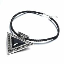 Pendant Necklace Fashion Chokers Statement Necklaces Triangle Pendants Rope Chai