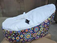 Convertible 2 Tops Baby Beanbag Chair Decent Seat Baby Harness Bean Bed No Fills