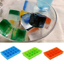 Silicone DIY Ice Cube Tray Freeze Mould Bar Jelly Chocolate Mold Maker Mold