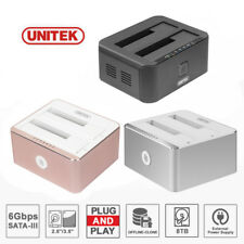"Unitek USB 3.0 SATA Docking Station 2.5""&3.5"" HDD SATA Dock Hard Drive Enclosure"