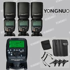 Yongnuo YN600EX-RT II TTL Speedlite Flash+ YN-E3-RT II Transmitter For Canon EOS