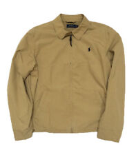 NEW Polo Ralph Lauren Men's Canvas Jacket, Tan, ALL SIZES Big & Tall