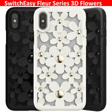 """SwitchEasy Fleur Series 3D Flowers Lady  Case for Phone 7 / 8 Plus  5.5"""" TPU New"""