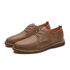 Mens Oxfords Loafer  Brock Genuine  Leather Dress Shoes Moccasins Driving Shoes