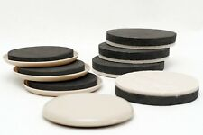 Furniture Movers - 3.5 Inch Width Plastic And Felt Sliders - Variety Pack Pads