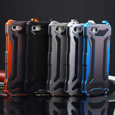 Waterproof Shockproof Aluminum Gorilla Glass Metal Case Cover For iPhone Models