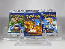 1 Pokemon GUARANTEED SHADOWLESS Base Set Booster Pack Sealed *WEIGHED READ*