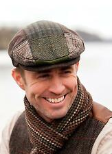 Patch Flat Cap Hat Made in Ireland by Mucros Weavers.Free Shipping cap b