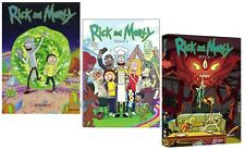 Rick and Morty: The Complete Series Season 1-2 (4-Disc DVD Set) New Sealed F&S