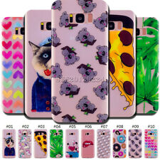 Shockproof Skin TPU Silicone Rubber Protective Soft Cover Back Case For Samsung