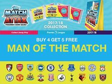 Match Attax 2017/18 17/18 MAN OF THE MATCH Cards