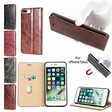 Luxury Leather Unique Design Flip Stand Wallet Case Cover For iPhone 7 Plus