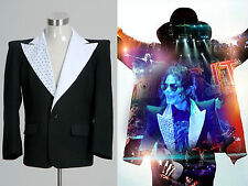 """Michael Jackson MJ """"This Is It"""" Jacket Coat Costume Cosplay Halloween Party"""