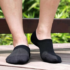 5/10 Pairs Men Ankle Socks Ankle Invisible Loafer Boat Liner Bamboo Casual Socks
