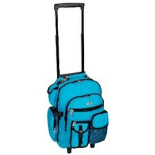 Wheeled Backpack College Laptop Rolling School Bookbag Travel Carry On Luggage