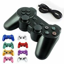 Six-axis Dual Shock Wireless Bluetooth Gamepad Controller For PlayStation 3 US