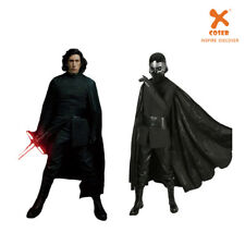 Star Wars 8 The Last Jedi Kylo Ren Cosplay Costume Cool Cape Outfit Fancy Dress