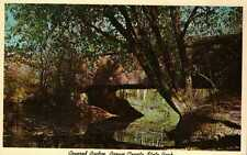 Postcard Covered Bridge Brown County State Park Indiana
