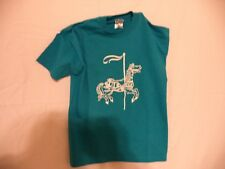 CAROUSEL HORSE SCREEN PRINT T-SHIRTS FOR KIDS AND ADULTS