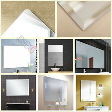 Bathroom Wall Mirror Large Rectangle Square Bevel Pencil Edge 1500/1200/900/750
