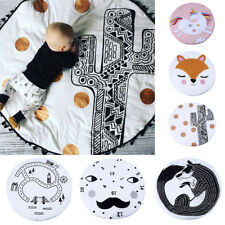 New Cotton Baby Kids Game Gym Activity Play Mat Crawling Blanket Floor Rug