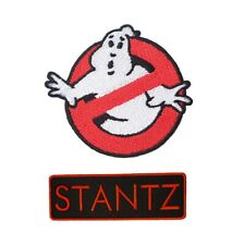 Ghostbuster Tag Name Embroidery Patches Iron On Bag Jeans Jacket Badge Applique