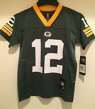 Green Bay Packers Aaron Rodgers #12 Youth Replica Jersey - NFL Licensed