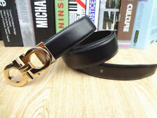 New Hot Fashion Mens Genuine Leather Belt Casual Waistband Alloy Buckle Belts