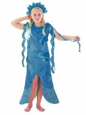 Childrens Blue Little Mermaid Fancy Dress Costume Outfit 4-6 Yrs