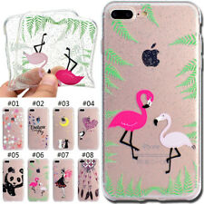 TPU Rubber Silicone Glitter Gel Soft Case Cover Shockproof Skin For Apple iPhone