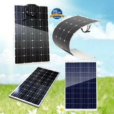 100Watt 12V Solar Panel Battery Charger Poly Mono Flexible cell RV Boat Off Grid