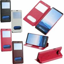 Unique VIEW Window Leather Stand Flip Wallet Case Cover For Samsung Galaxy Note8