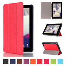 For Amazon Kindle Fire 7 Tablet Case Stylish Folio Leather Cover Stand Case