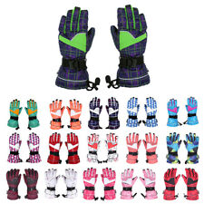 Women Waterproof Windproof Ski Gloves Snowboard Sledding Snowmobile 16 Color