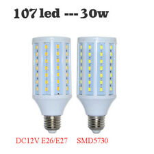 12V LED Corn Light Bulb 30W E27 E26 SMD5730 Bulb Light For Indoor Energy Saving