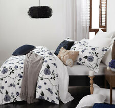 Logan & Mason NICOLA Floral Quilt Doona Cover Set - SINGLE DOUBLE QUEEN KING