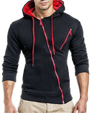 Men Winter Hoodie Warm Hooded Sweatshirt Coat Jacket Outwear Sweater Slim Fit 0